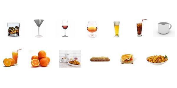imágenes de productos hosteleros para software tpv sysme