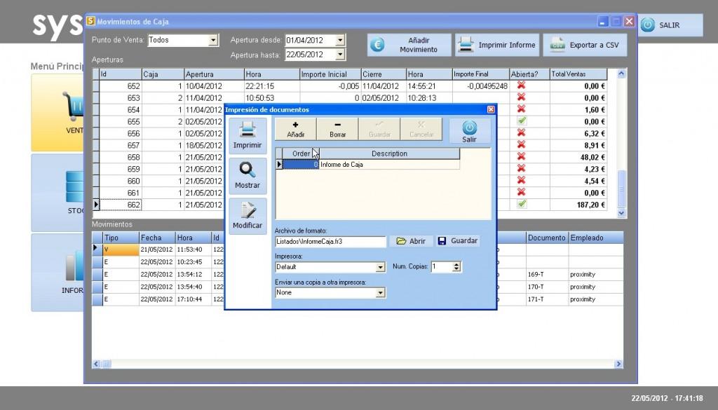 Software Tpv Sysme Tpv 4.18