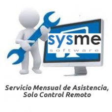 Servicio Mensual de Asistencia - Solo Control Remoto