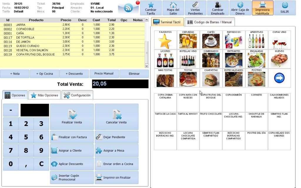 Software Sysme Tpv 4.06