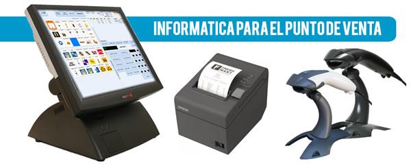 Equipos Tpv, impresoras de tickets, lectores de códigos de barras