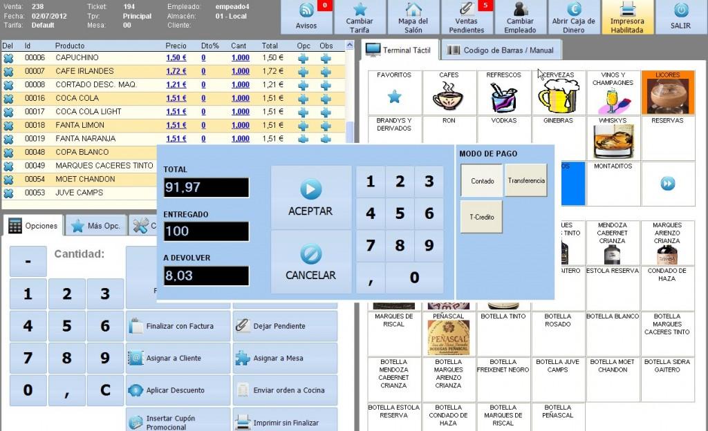 Software Tpv Sysme Tpv 4.22