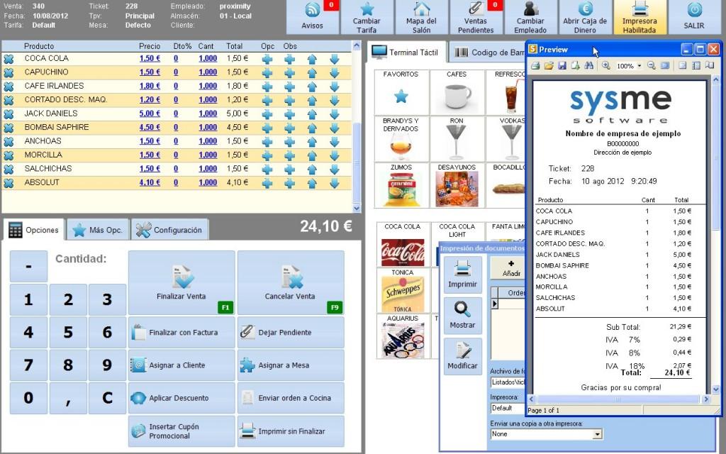 Software Tpv Sysme Tpv 4.25