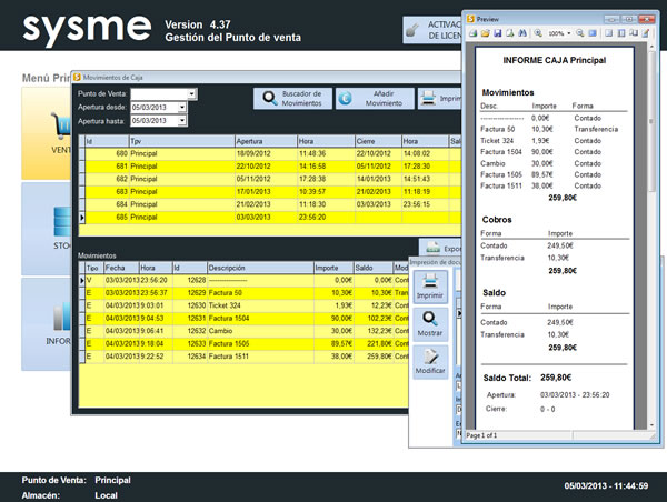 Software Tpv Sysme Tpv 4.37