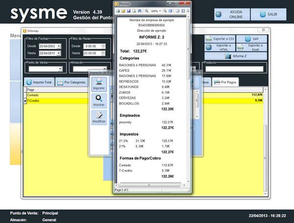 Software Tpv Sysme Tpv 4.39