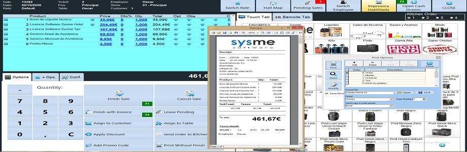 Sysme Pos Software
